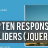 10 Best Responsive Sliders (jQuery)