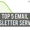 Top 5 Email Newsletter Services