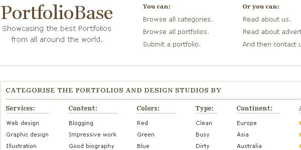 portfolio base